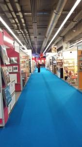 Auch so kann Buchmesse sein - an Fachbesuchertagen ganz früh