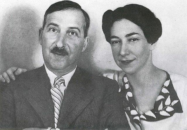 Stefan und Lotte Zweig