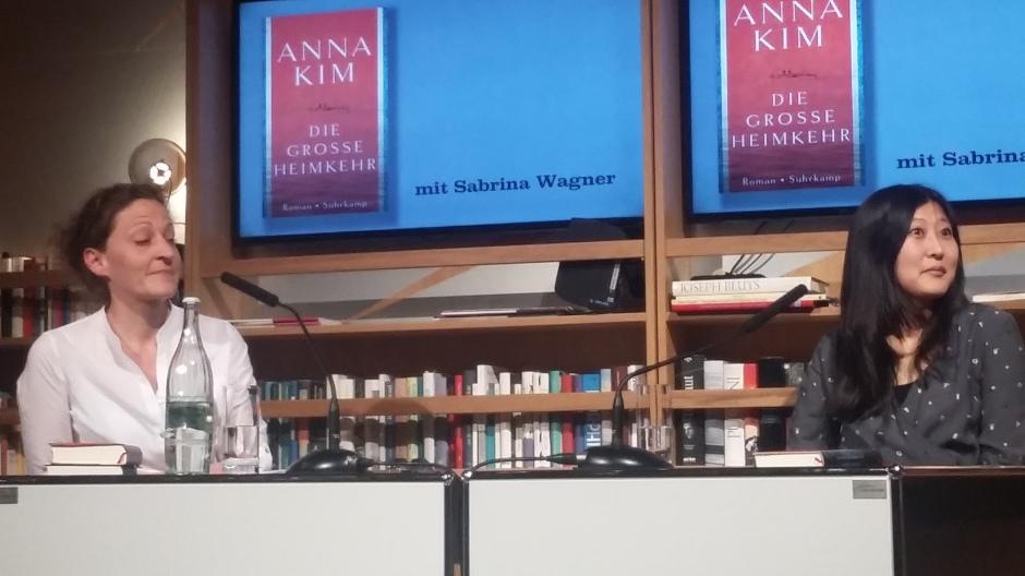 Anna Kim im Literaturhaus Frankfurt