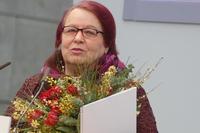 Natascha Wodin bei der Preisverleihung zum Leipziger Buchpreis 2017