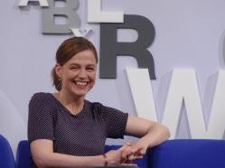 Marianna Leky auf dem Blauen Sofa