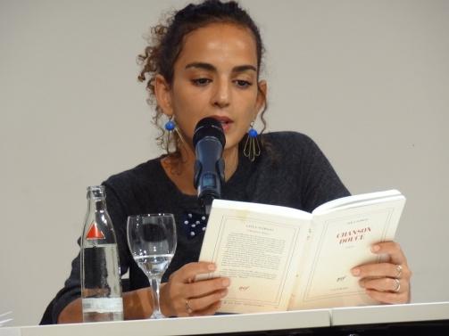 Leila Slimani liest aus Chanson douce