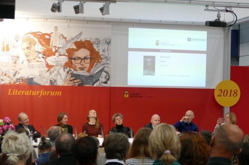Die Nominierten für den Preis der Leipziger Buchmesse in der Kategorie Belletristik stellen sich vor