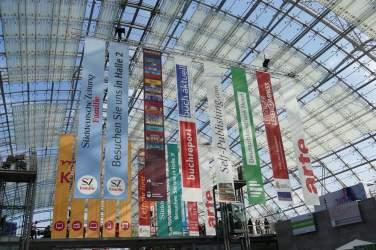 Leipziger Buchmesse Glashalle