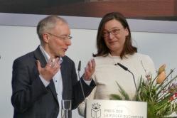 Sabine Stöhr und Juri Durkot