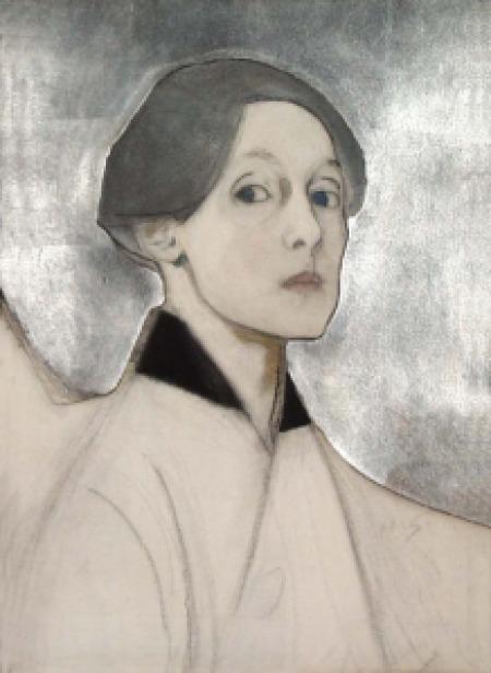 Helene Schjerfbeck in Kristine Bilkau - Eine Liebe, in Gedanken