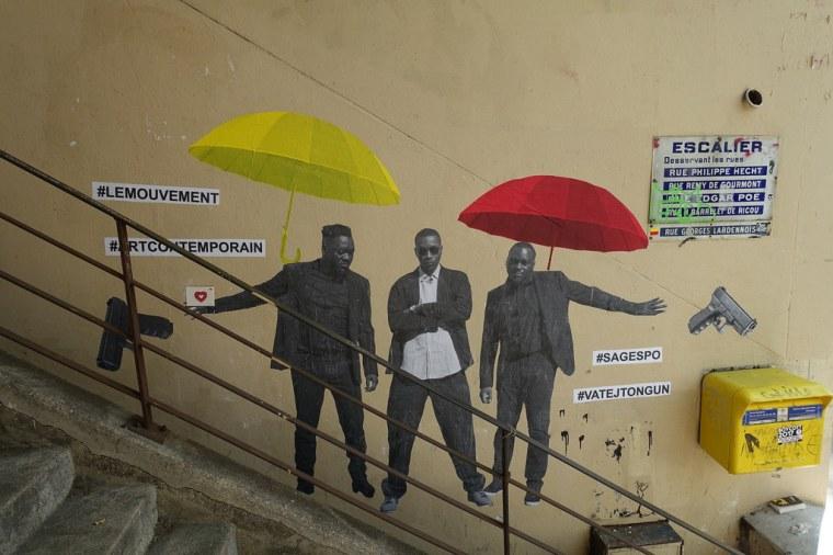 Street art @ Butte Bergeyre