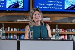 Jennifer Egan Literaturhaus Frankfurt September 2018