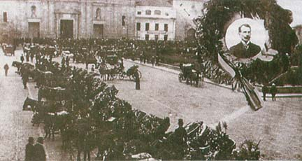 Begräbnis Rafael Uribe Uribes By Foto del gobierno [Public domain or Public domain], via Wikimedia Commons