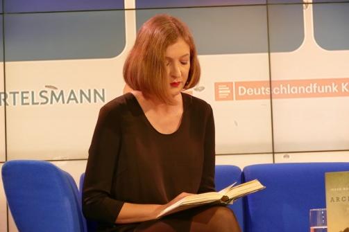 """Inger-Maria Mahlke liest aus dem Siegertitel des Deutschen Buchpreis """"Archipel"""""""