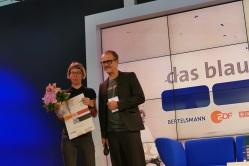 Bettina Wilpert bekommt den Aspekte Literaturpreis 2018