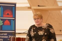 Die norwegische Kultusministerin Trine Skei Grande