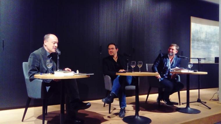 Juan Gabriel Vasquez im Hessischen Literaturforum 2018