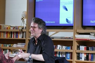 Ralf Rothmann im Frankfurter Literaturhaus 2018