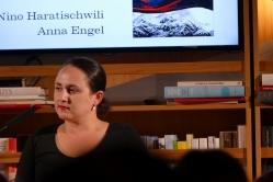 """Premiere von nini Haratischwilis Roman """"Die Katze und der General"""" im"""