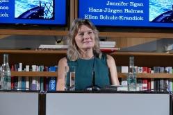 Jennifer Egan im Frankfurter Literaturhaus 2018