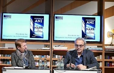 Friedrich Ani im Literaturhaus Frankfurt 2018