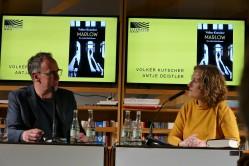 Volker Kutscher und Antje Deistler im Literaturhaus Frankfurt © Petra Reich