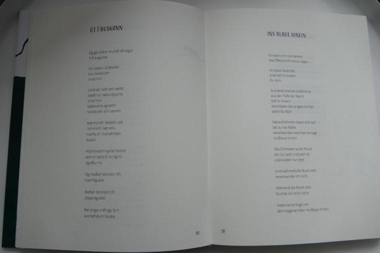 Sigurður Pálsson - Gedichte erinnern eine Stimme
