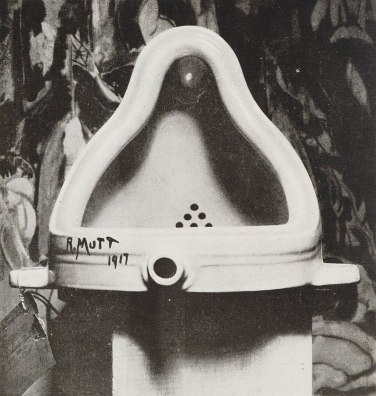 "Urinal ""Fountain"" Marcel Duchamp [Public domain] Wikimedia Commons"