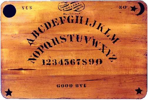 Ouija Board via Wikimedia Commons