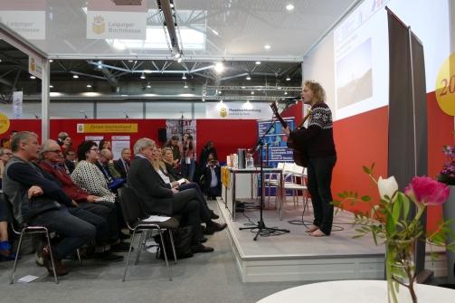 Prominenz bei der Pressekonferenz des Gastlandes Norwegen FBM 2018