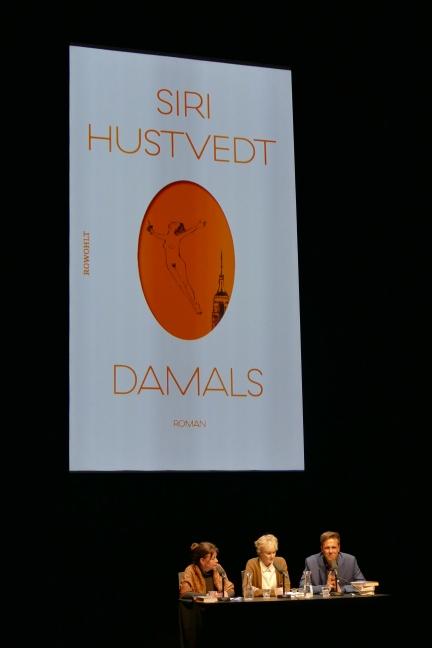 """Lesung von Siri Hustvedt zu """"Damals"""""""