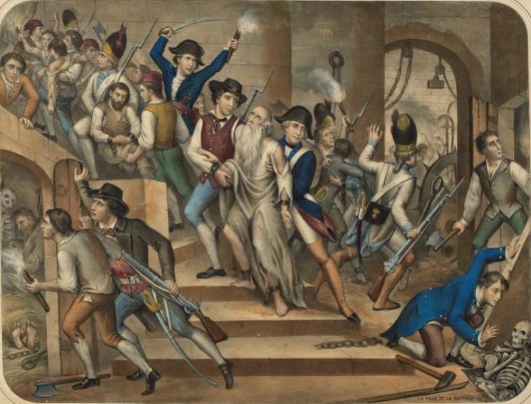 Prise de la Bastille, 14.Juli Éric Vuillard